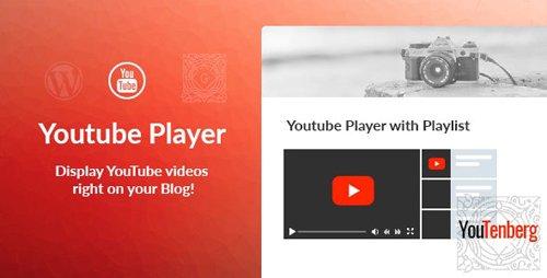 CodeCanyon - Youtenberg v1.0.2 - Gutenberg YouTube Player with Playlist - 23190424