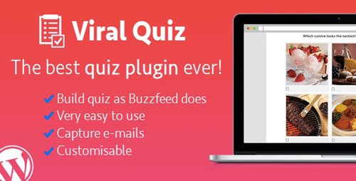 CodeCanyon - WordPress Viral Quiz v4.01 - BuzzFeed Quiz Builder - 11178623
