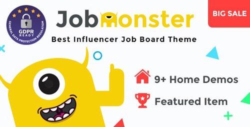 ThemeForest - Jobmonster v4.6.0.4 - Job Board WordPress Theme - 10965446