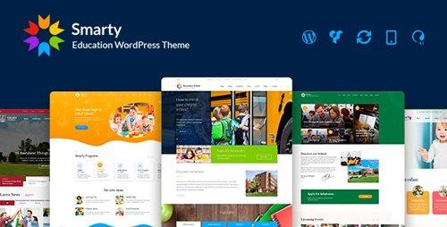 ThemeForest - Smarty v3.3.2 - School Kindergarten WordPress theme - 15709416