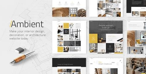 ThemeForest - Ambient v1.7 - Modern Interior Design and Decoration Theme - 19502949 - NULLED