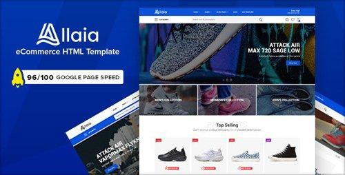 ThemeForest - Allaia v1.0 - eCommerce HTML Template - 25781982
