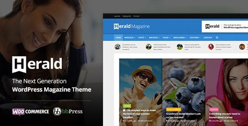 ThemeForest - Herald v2.2.4 - Newspaper & News Portal WordPress Theme - 13800118