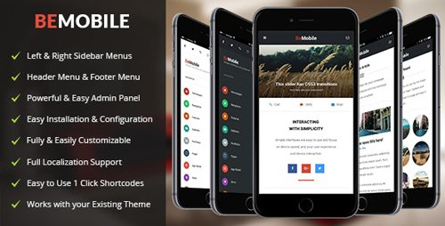 ThemeForest - Be Mobile v1.6 - WordPress Theme - 19326597