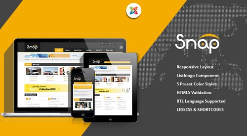 SmartAddons - SJ Snap v2.3.0 - Responsive Joomla Classified Template