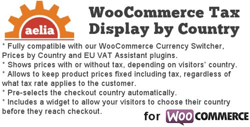 CodeCanyon - Tax Display by Country for WooCommerce v1.12.2.200127 - 8184759