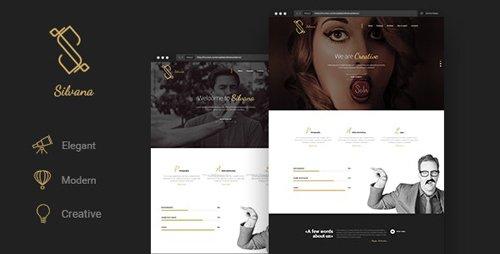 ThemeForest - Silvana v1.0 - Creative Onepage Agency Template - 25793932