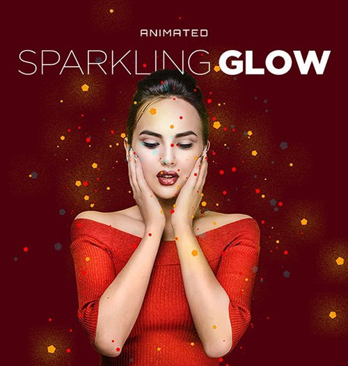 Sparkling Glow Animated Action 24823290