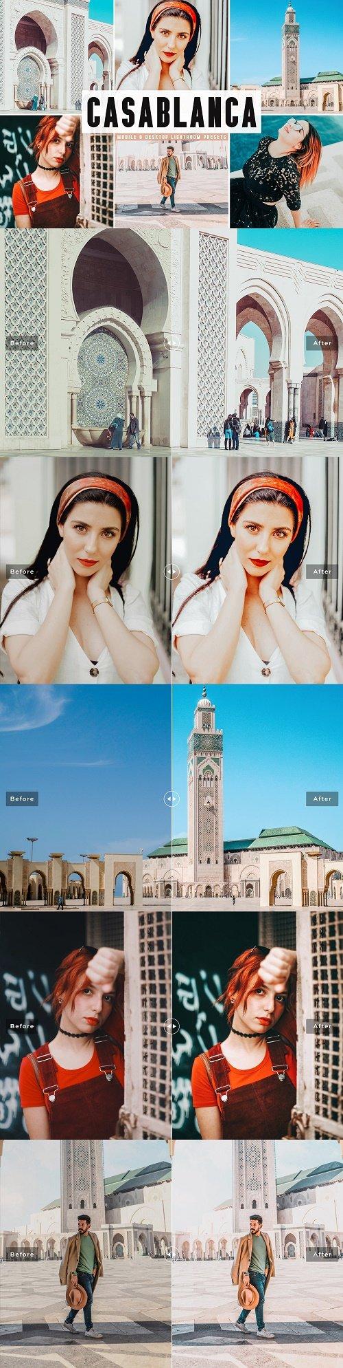 Casablanca LRM Presets Pack - 4614370 - Mobile & Desktop