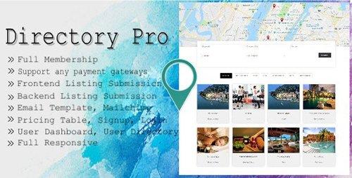 CodeCanyon - Directory Pro v1.9.0 - WordPress Plugin - 12488012
