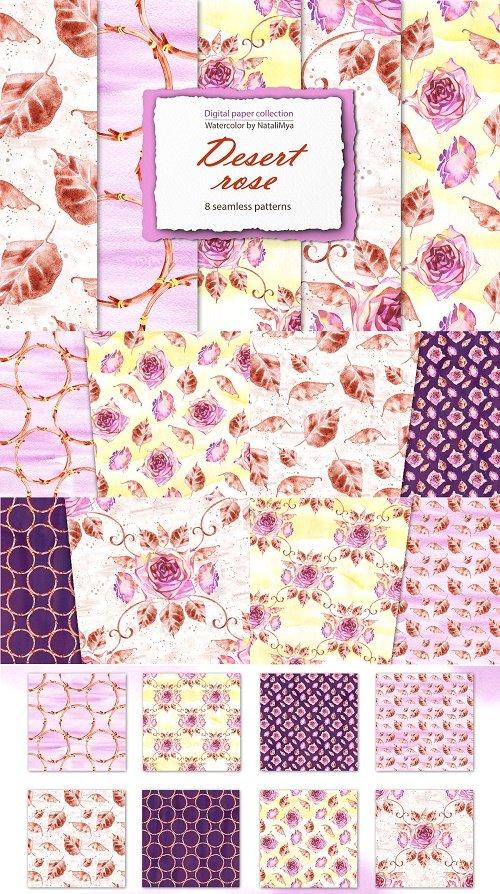 Desert rose - boho paper pack - 4670943