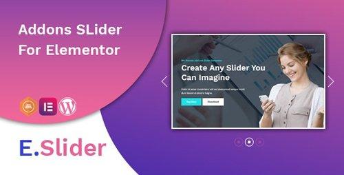 CodeCanyon - E.Slider Add ons slider for Elementor v1.0.1 - 25908345