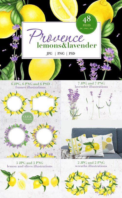 Provence: Lemons and Lavender - 3585006