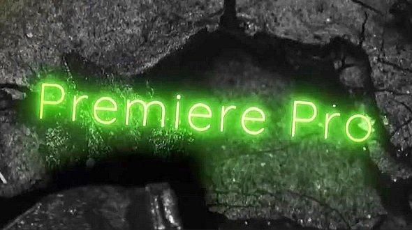 Neon Typography 310527 - Premiere Pro Templates