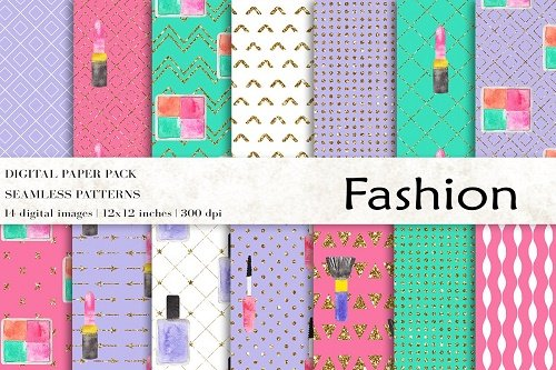 Fashion Digital Papers - 4712557