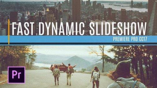 Fast Dynamic Slideshow - Premiere Pro Template