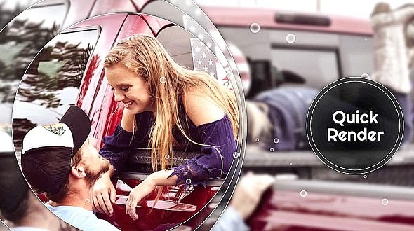 Circle Smooth - Memory Slideshow 12688998 - After Effects Templates