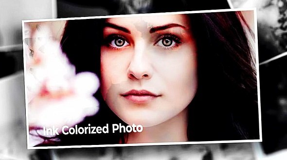 Ink Colorized Memory Photo 13393801 - After Effects Templates