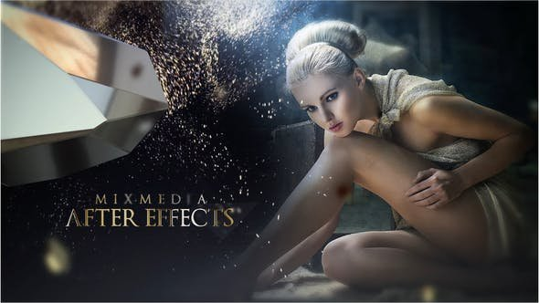 Videohive - Go Gold Opener - 25891322 - Project for After Effects