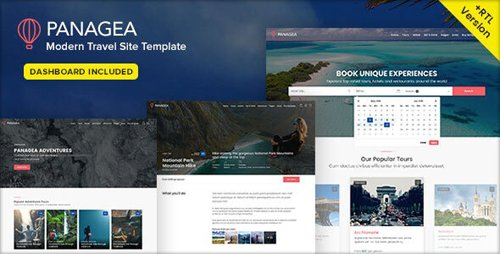 ThemeForest - Panagea v1.6 - Travel and Tours listings template - 21957086