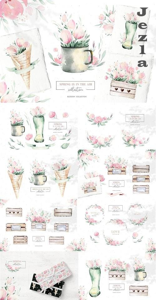 Spring is in the air collection - 4571502
