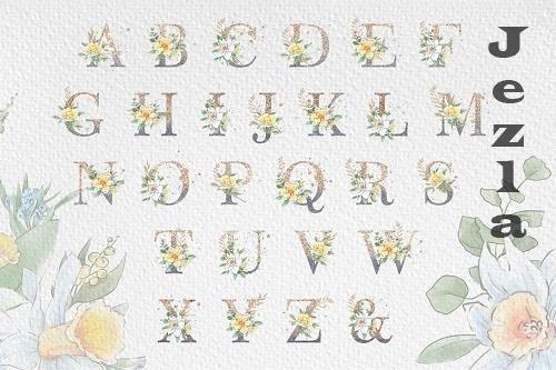 Flowers Alphabet - 4756810