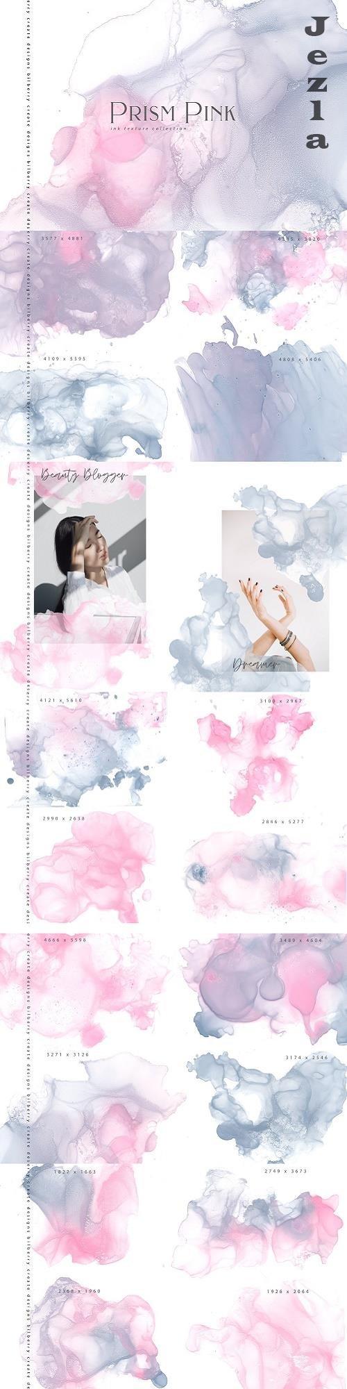 Prism Pink ink textures - 4646450