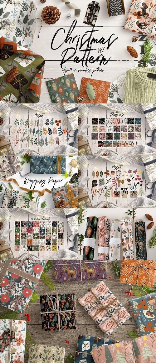 Christmas Pattern Vol.1 - 4140514