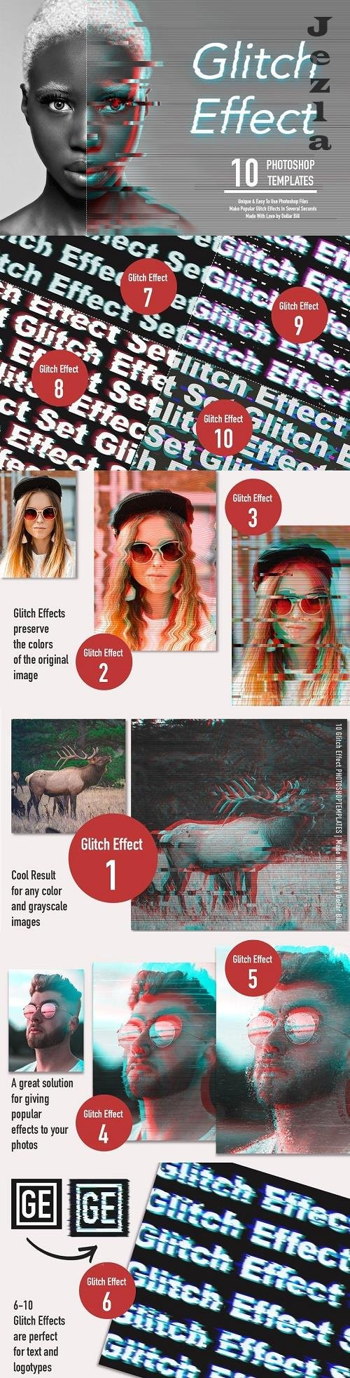 Glitch Effect Set for PHSP - 4772227