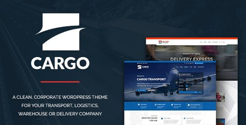 ThemeForest - Cargo v1.2.6 - Transport & Logistics - 13281152