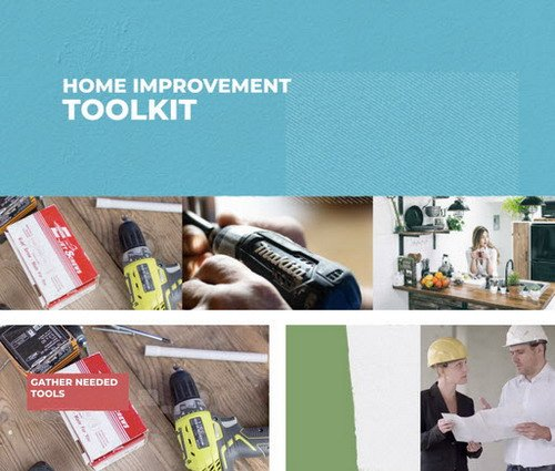 Home Improvement Toolkit - Premiere Pro Template