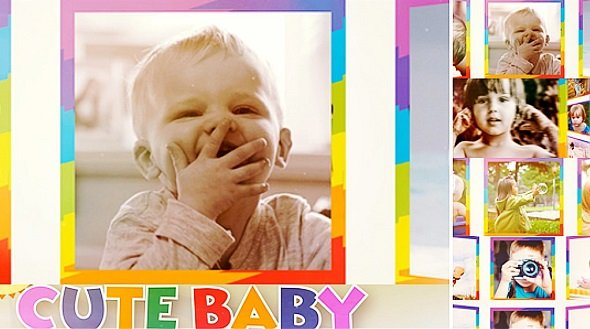 Cute Baby Show 9563755 - Project for After Effects
