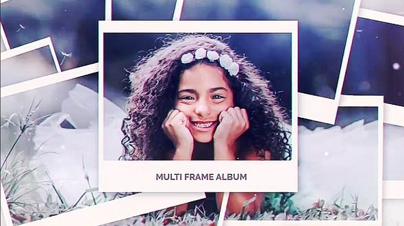 Multi Frame Photo Gallery 11821449 - Project for After Effects