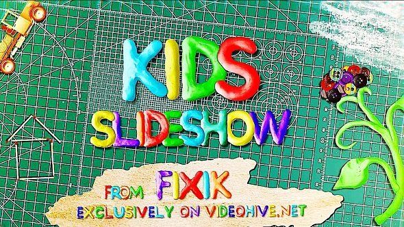 Videohive: Kids Slideshow 21738166 - Project for After Effects