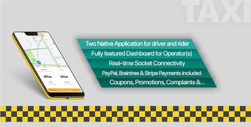 CodeCanyon - Taxi application Android solution + Dashboard v3.1 - 21437882