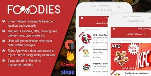 CodeCanyon - Native Restaurant Food Delivery & Ordering System With Delivery Boy - Android v2.0.6 - 23305028