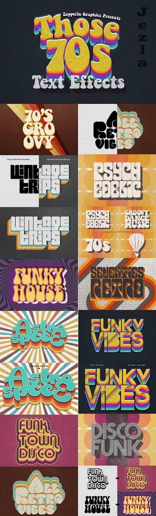 70s Text Effects 26502862