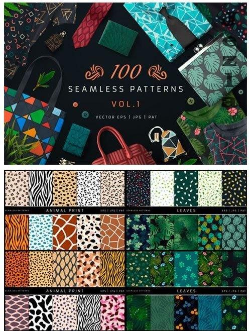 100 Seamless Patterns Vol.1 - 3833959