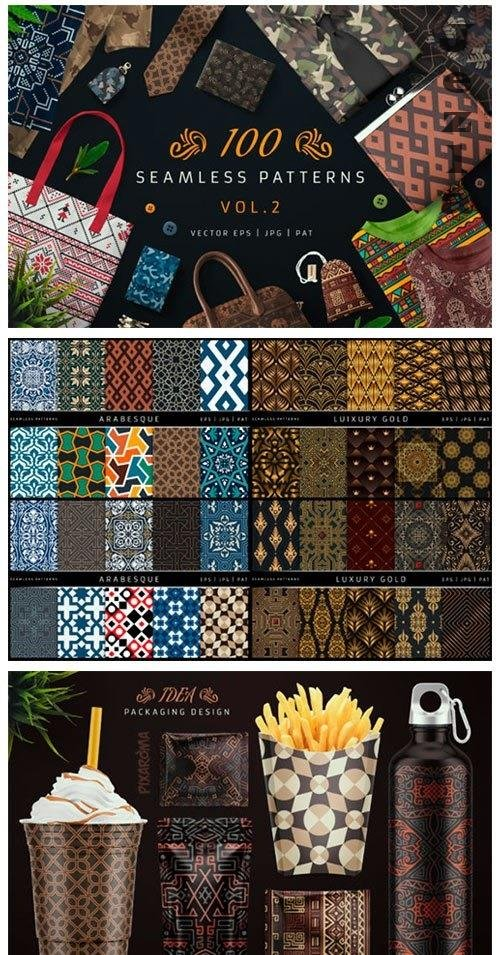100 Seamless Patterns Vol.2 - 3963597