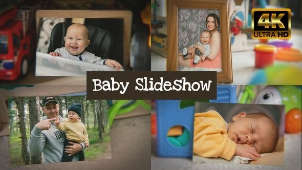 Videohive - Baby Slideshow - 23205842 - Project for After Effects