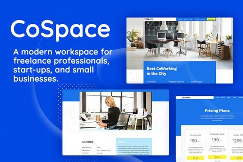 ThemeForest - CoSpace Coworking v1.0 - Modern Workspace - 26397197