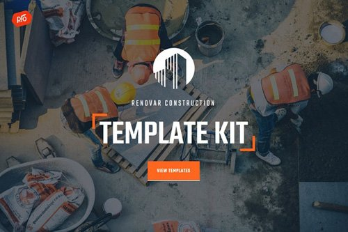 ThemeForest - Renovar v1.0 - Construction Template Kit - 25969256