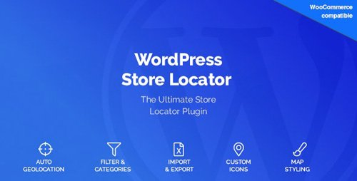 CodeCanyon - WordPress Store Locator v1.10.8 - 15762057