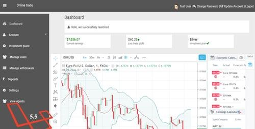 CodeCanyon - Online Trade - Online investment and cryptocurrency trading system. (Update: 4 April 20) - 21987193 -