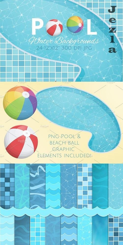 Swimming Pool Backgrounds - 2298518