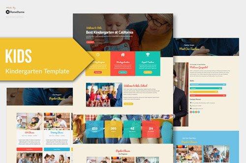 ThemeForest - Kids v1.0 - Kindergarten Child Care Elementor Template Kit (Update: 8 May 20) - 26219437