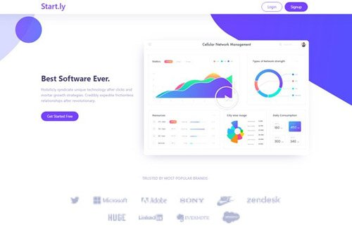 ThemeForest - Startly v1.0 - Template Kit for Startups, SaaS & Software - 26005174