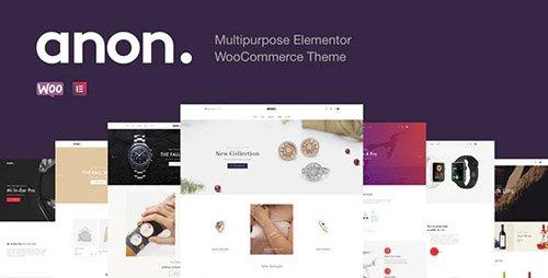 ThemeForest - Anon v1.4.0 - Multipurpose Elementor WooCommerce Themes - 25426652