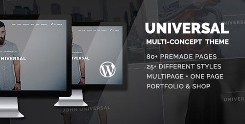 ThemeForest - Universal v1.2.5 - Smart Multi-Purpose WordPress Theme - 17680955