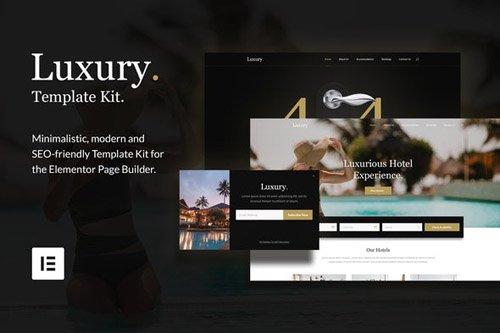 ThemeForest - Luxury v1.0 - Hotel & Resorts Template Kit - 26342158